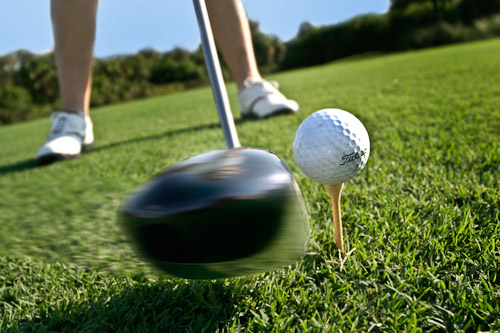 Golf t-shot