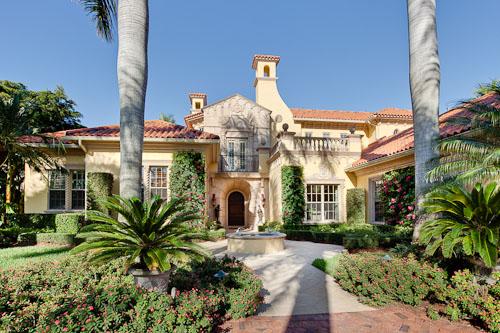 Mediterranean home in Naples, Florida