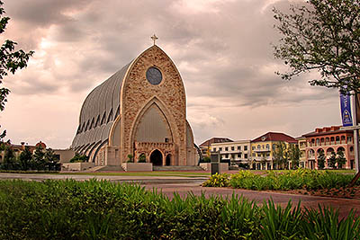 Ave Maria Oratory, Naples, Florida. Copyright Rick Bethem