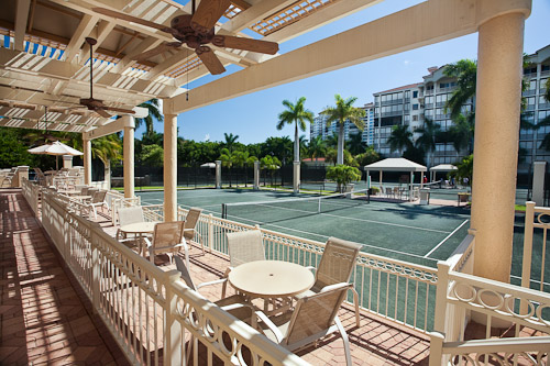 Tennis Club atBay Colony, Naples, Florida © Rick Bethem