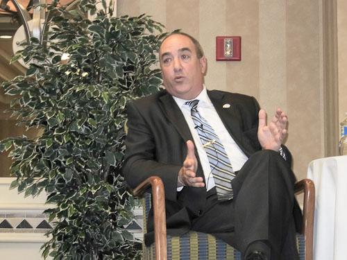 Mr. Ofer Bavly, Consul General of Israel, speaks in Naples, Florida