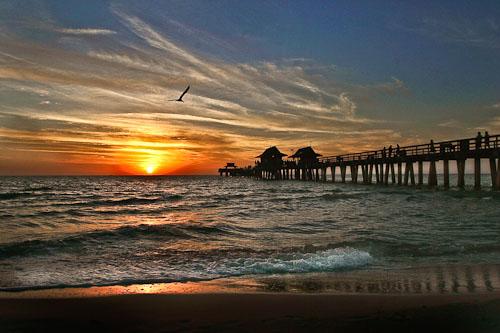 Naples Pier, Naples, Florida ©Rick Bethem