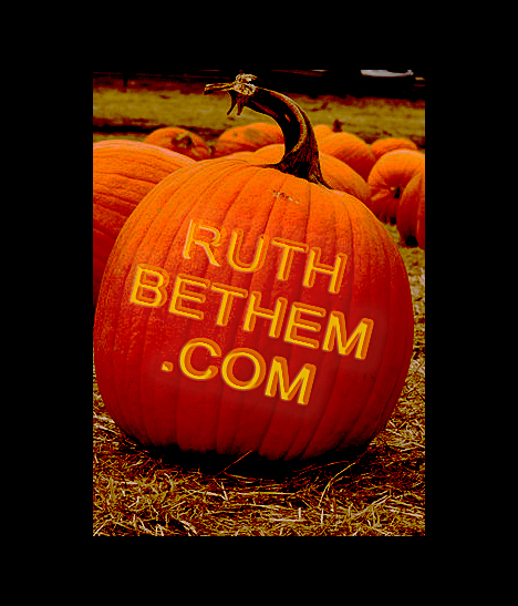 Pumpkin website photo www.RuthBethem.com