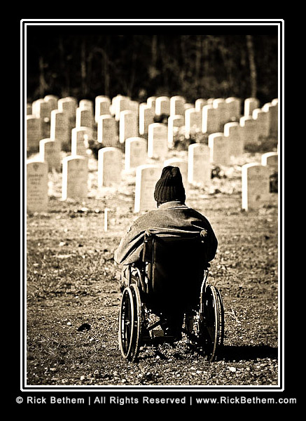 Veterans Day Photo © Rick Bethem