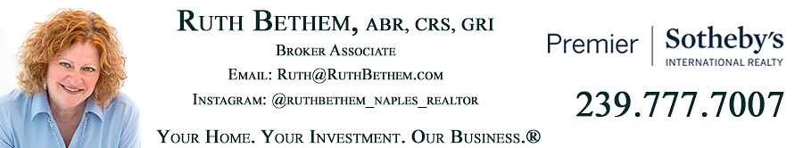 Naples Florida real estate agent Ruth Bethem of Downing-Frye Realty
